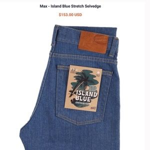 Naked & Famous Island Stretch Selvedge Max Jeans